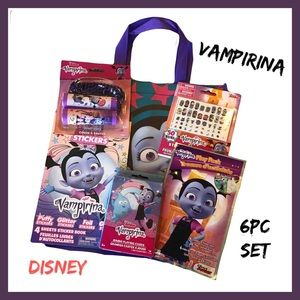 Disney Vampirina 6pc Stationary Set NWT